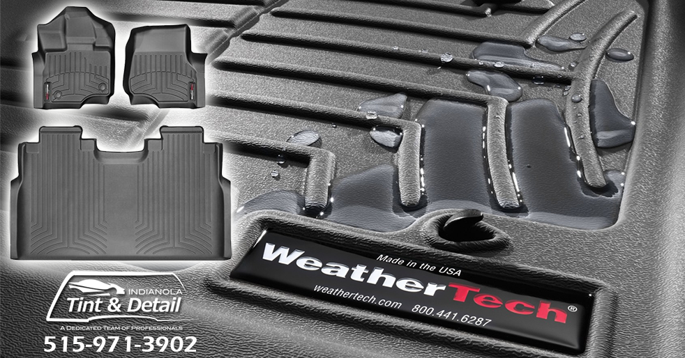 WeatherTech™ FloorLiners and Accessories – Indianola Window Tint